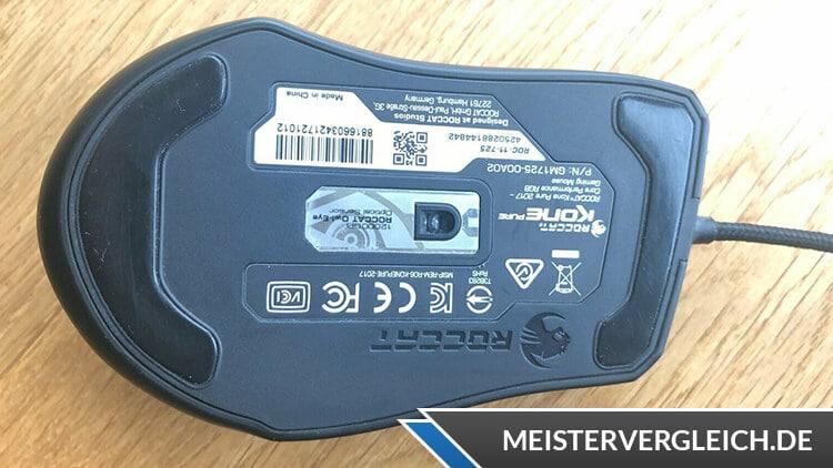 Roccat Kone Pure Gaming Maus Sensor