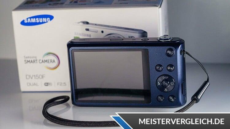 Samsung DV150F Display