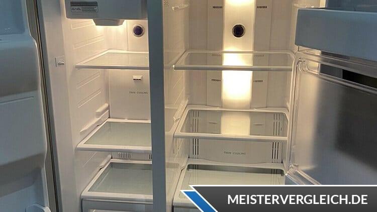 Side-by-Side Kühlschrank Tür offen