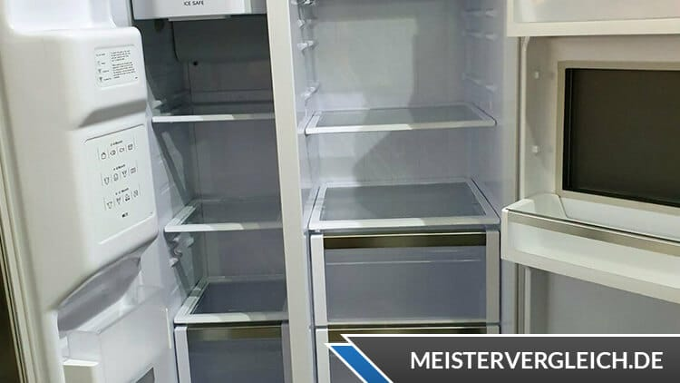 Side-by-Side Kühlschrank Siemens Innenansicht