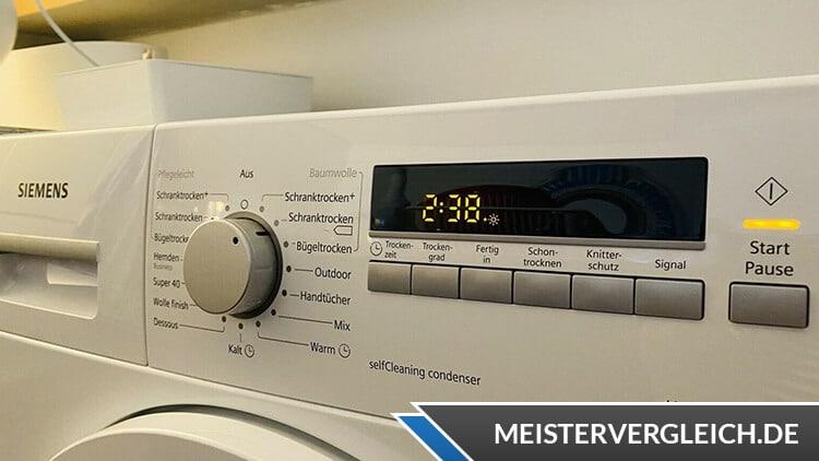 Siemens iQ700 WT46W261 Test