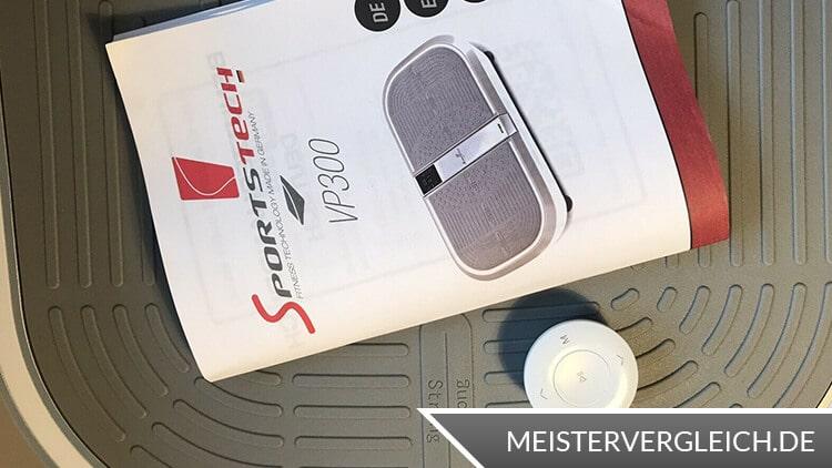 Vibrationsplatte mit Fernbedienung
