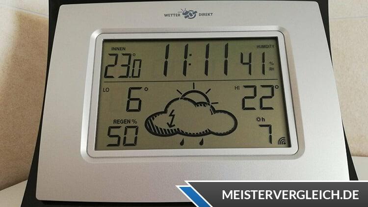 Wetterstation Uhrzeit