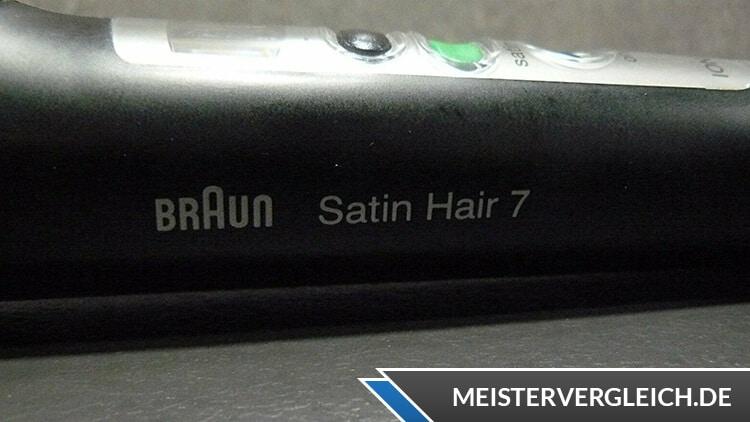 Braun Satin Hair 7 Lockenstab CU710 Aufschrift