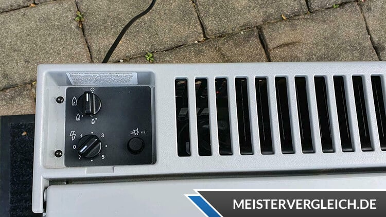 Dometic CombiCool RC 1200 EGP Einstellung