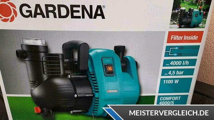 Gardena Comfort 4000-5 – 1734-20 Test