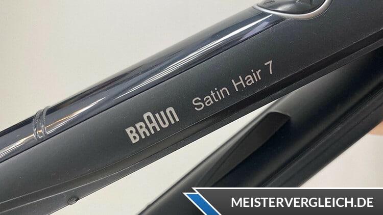 Haarglätter Braun
