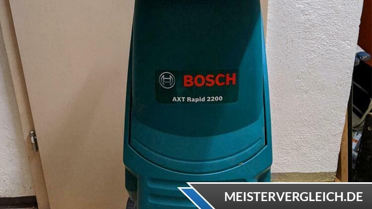 Häcksler von Bosch