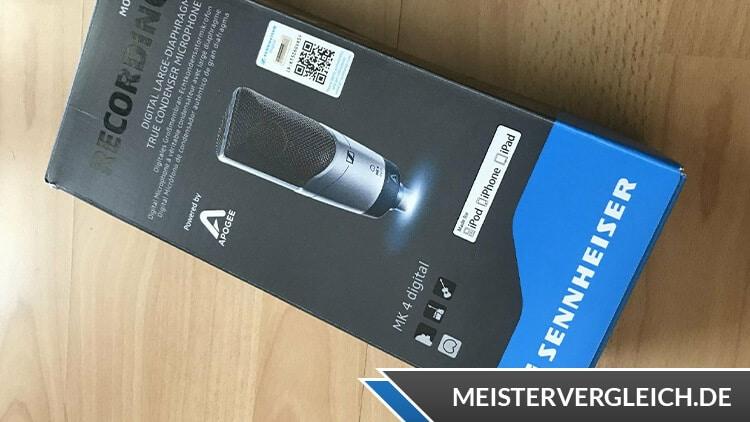 USB-Mikrofon Sennheiser Verpackung