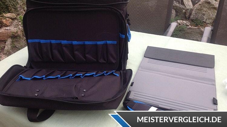 B&W Werkzeugtasche 116.01 service Innenseite