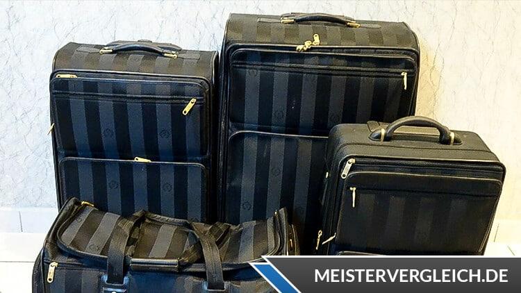 Reisekoffer Set mit weicher Schale