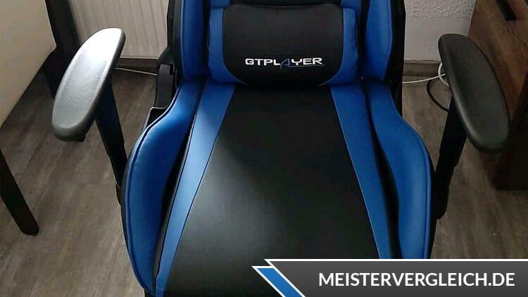 GT PLAYER Gaming Stuhl Lendenkissen