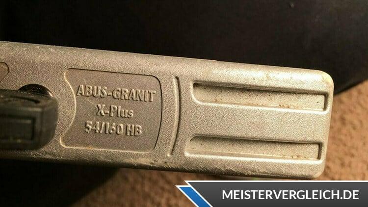 Abus Granit X Plus Bügelschloss