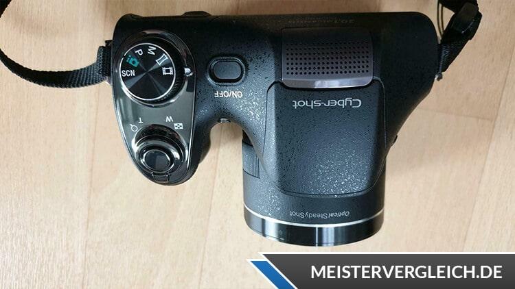 Bridgekamera von Sony mit Cyber Shot