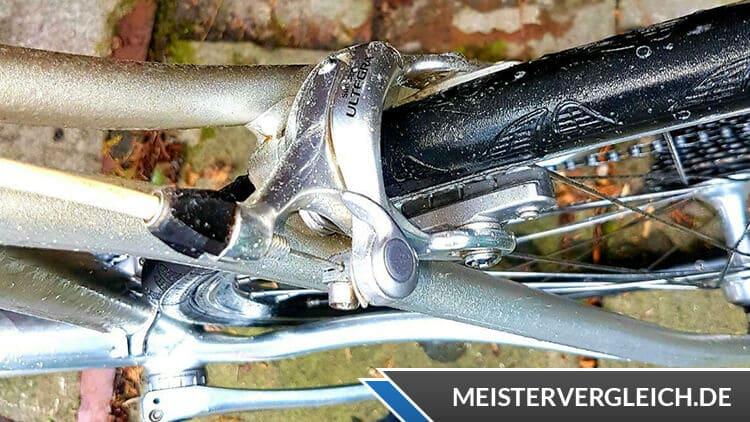 Fitnessbike ohne Schutzbleche und Kettenschutz