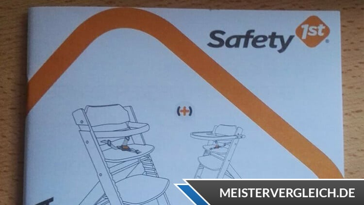 Safety 1st Timba Basic Hochstuhl Bedienungsanleitung