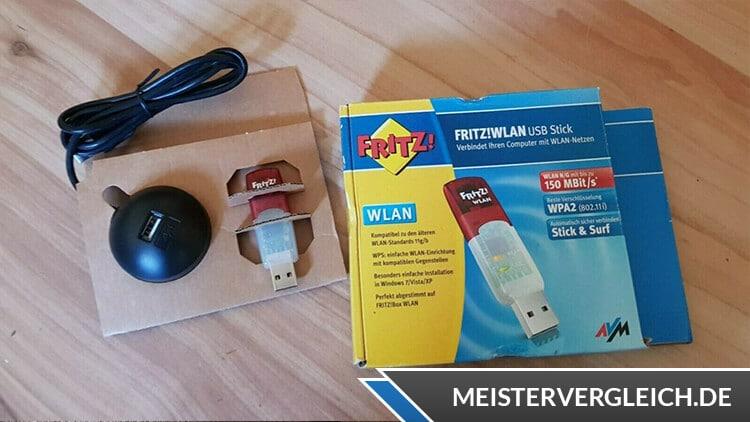WLAN Stick Fritz!WLAN Verpackung