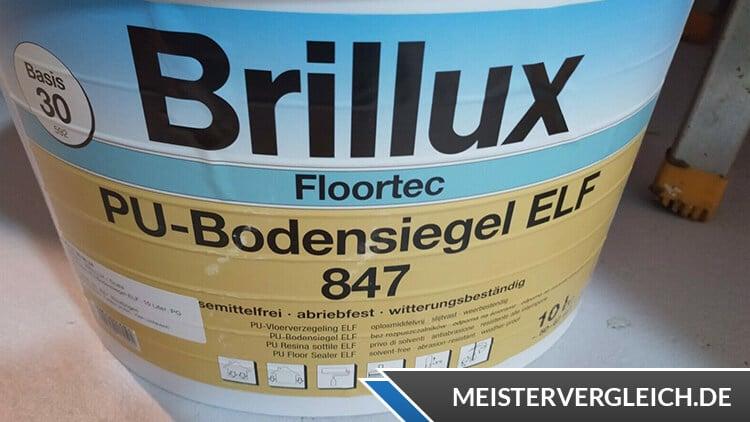 Brillux Bodenfarben für Garage
