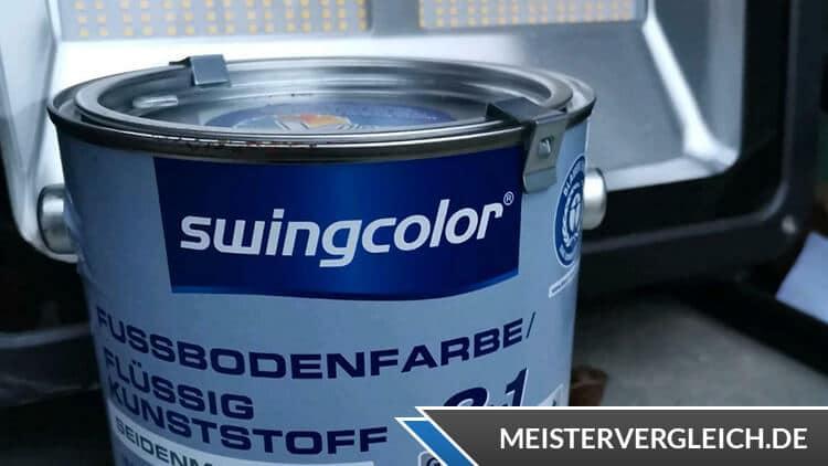 Fussbodenfarben für Garage