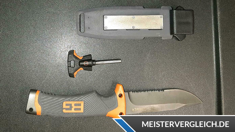 Gerber Bear Grylls Messer Ultimate Outdoormesser Scheide