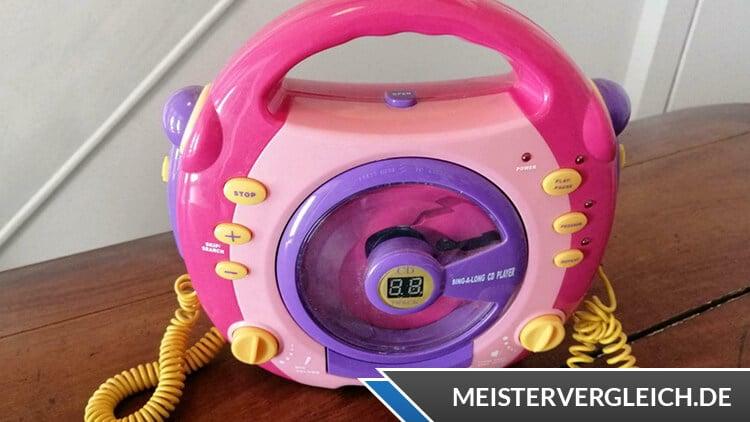 Kinder CD-Player für Mädchen