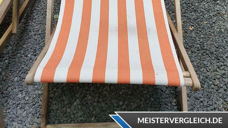Klassischer Strandstuhl