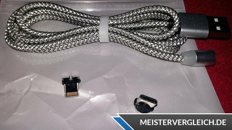 Magnet Ladekabel aus Nylon