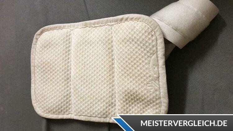Rückenstützgürtel Polster