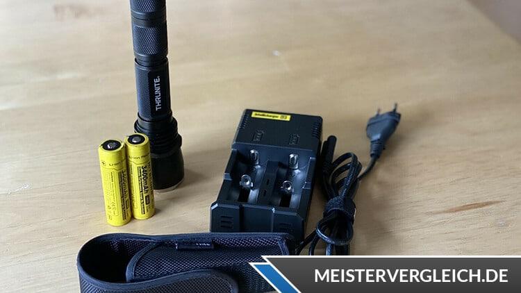 Taschenlampe Ladegerät