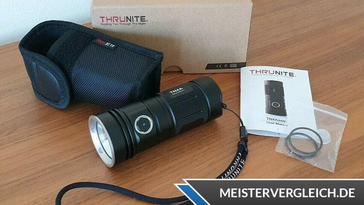 ThruNite TN4A LED Taschenlampe Lieferumfang