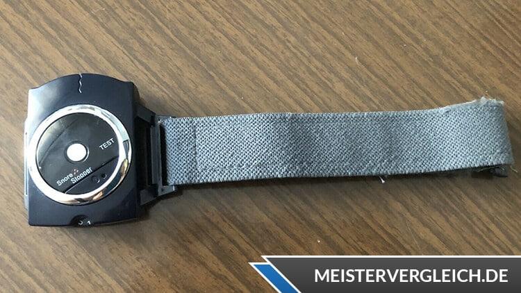Anti Schnarch Armband Test