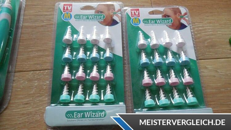 Ear Wizard Aufsätze