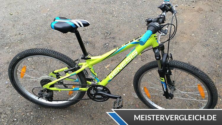 Genesis Fahrrad Test