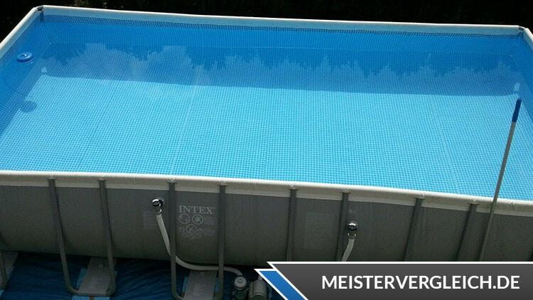INTEX Frame-Pool 732x366x132cm im Test