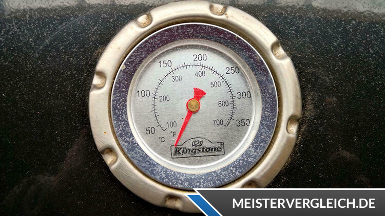 Kingstone Kugelgrill Deckelthermometer