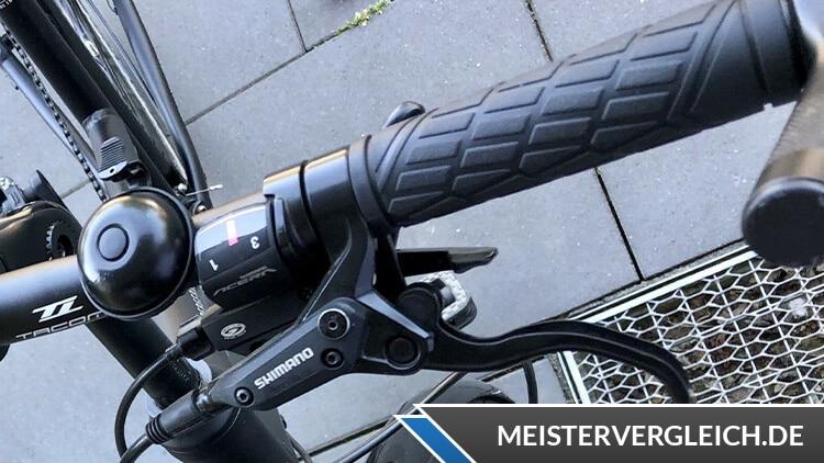 Ortler Bergerac Trekkingbike Lenkrad