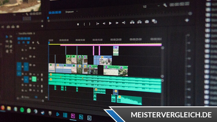 Videobearbeitungsprogramm Test