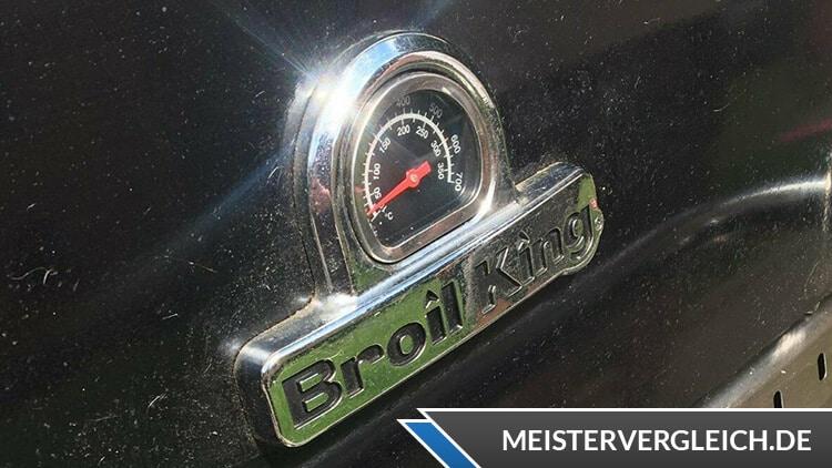 Broil King Baron 490 Temperaturanzeige
