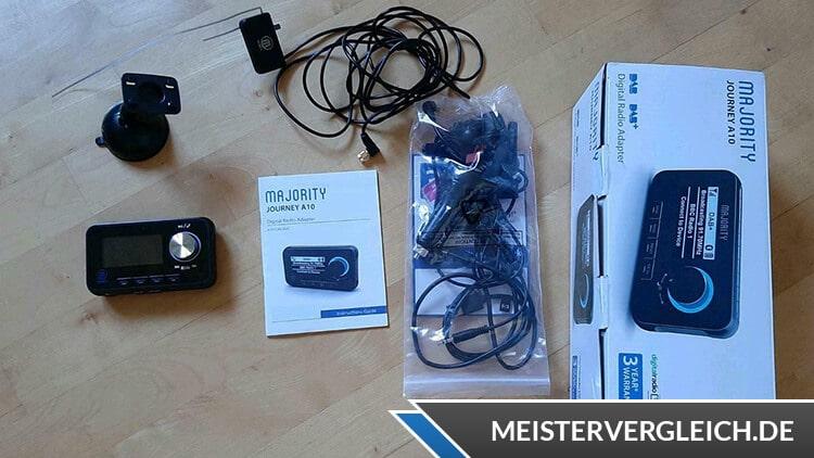 DAB+ USB-Stick für Autoradio Lieferumfang
