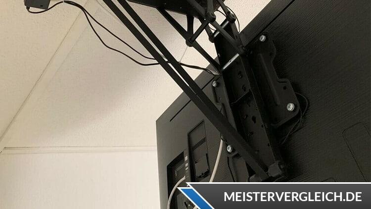 Elektrische TV Deckenhalterung Test