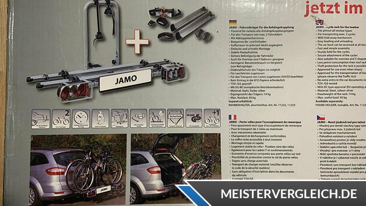 Eufab Jamo Fahrradträger Verpackung