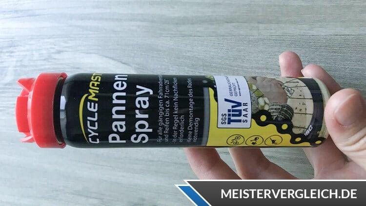 Fahrrad Pannenspray Test