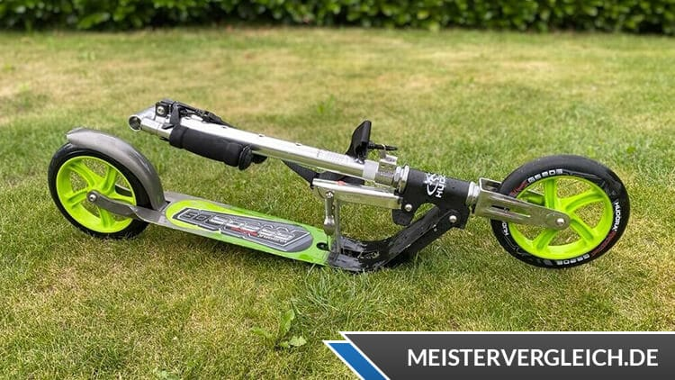 Hudora Big Wheel 205 RX PRO City-Scooter Praxistest