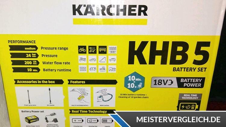 Kärcher KHB 5 Verpackung