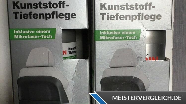 Kunststoff-Tiefenpflege