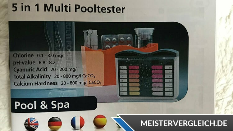 Manueller Pooltester Handbuch
