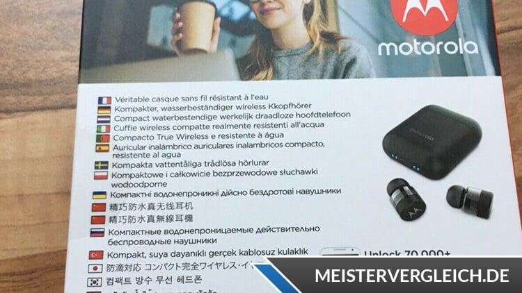 Motorola Vervebuds 110 Bedienungsanleitung