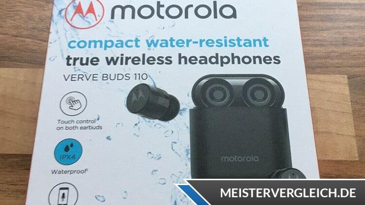 Motorola Vervebuds 110 Verpackung