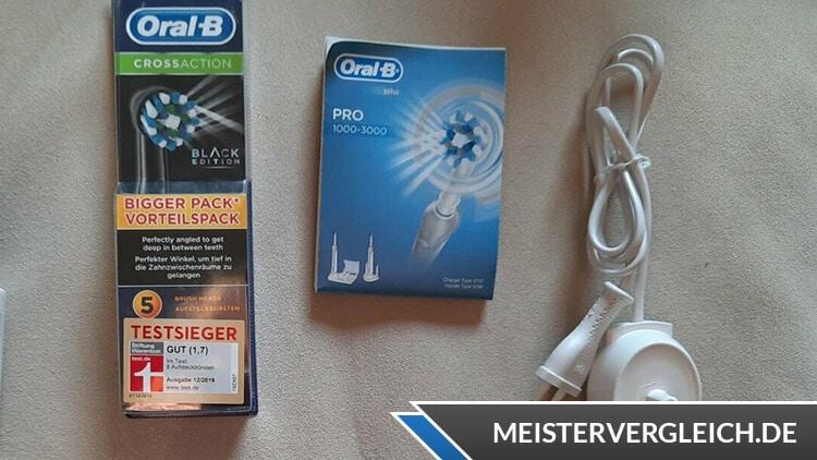 Oral-B PRO 2 2500 Ladegerät und CrossAction Bürste