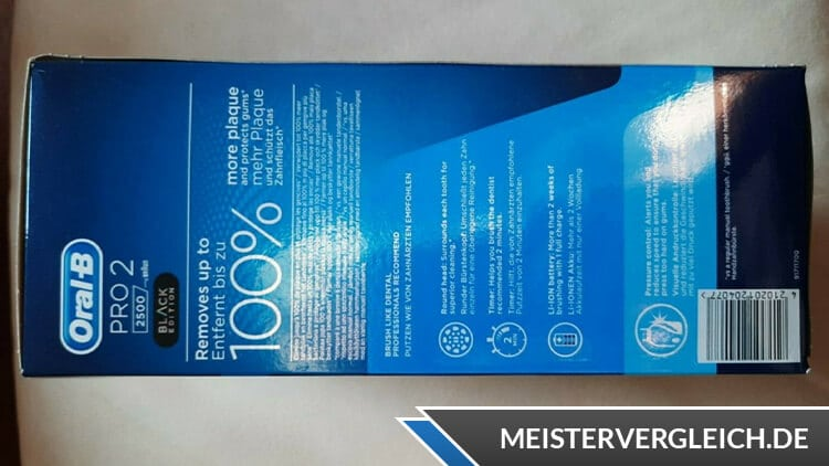 Oral-B PRO 2 2500 Unboxing